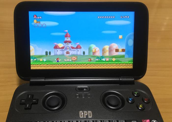 初代 GPD WIN z8750のWiiとゲームキューブのエミュレーターの使い方