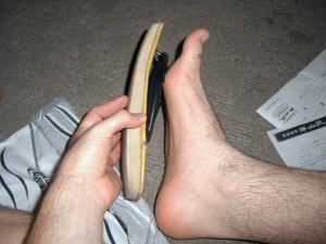 The slipper obaasan got mad at me for not wearing these slippers...as if that were possible