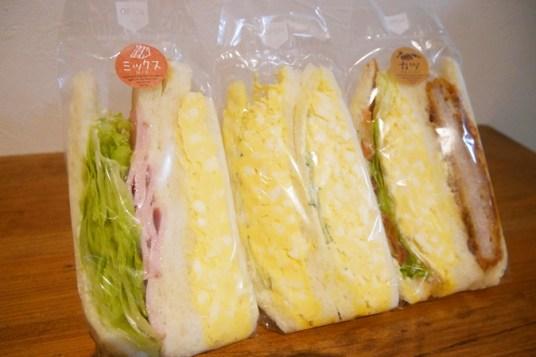 具だくさんのサンドイッチ
