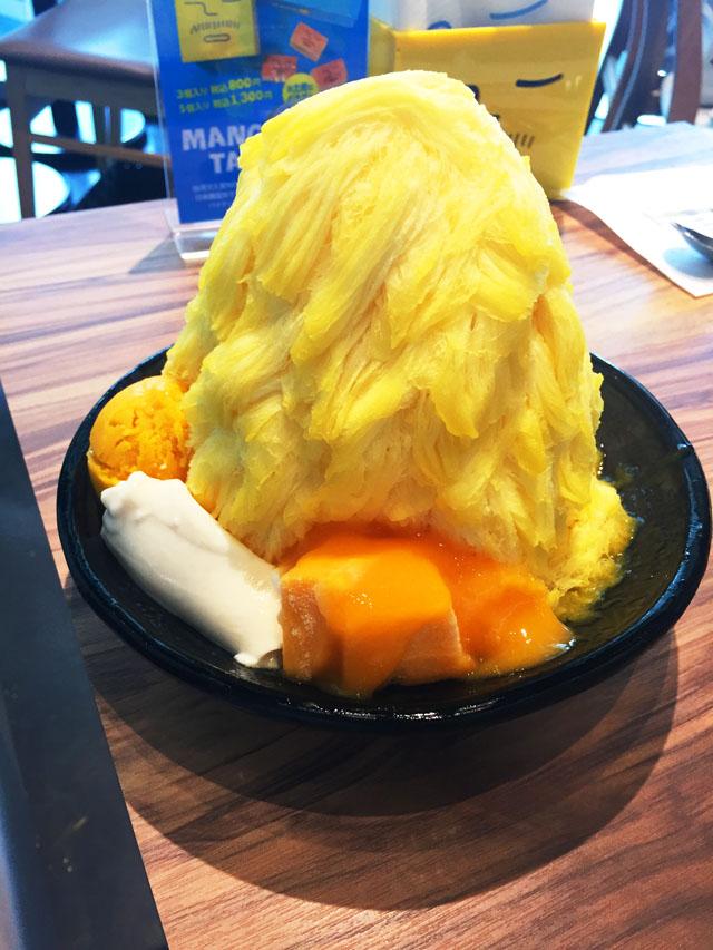 アイスモンスターマンゴーかき氷
