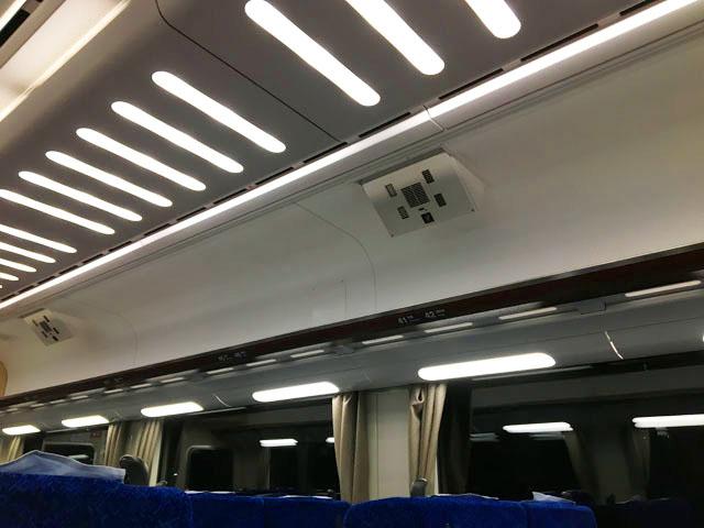 南海特急,サザンプレミアム,電車の中にプラズマクラスターがついている,