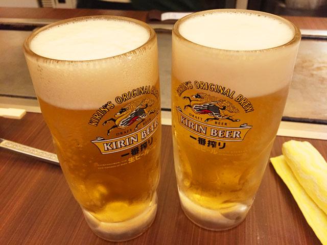 福太郎・高島屋店,生ビール