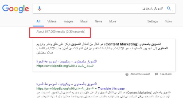 تعلم التسويق بالمحتوى