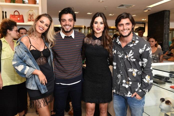 Yasmin Brunet, Rodrigo Simas, Thaila Ayala e Bruno Gissoni