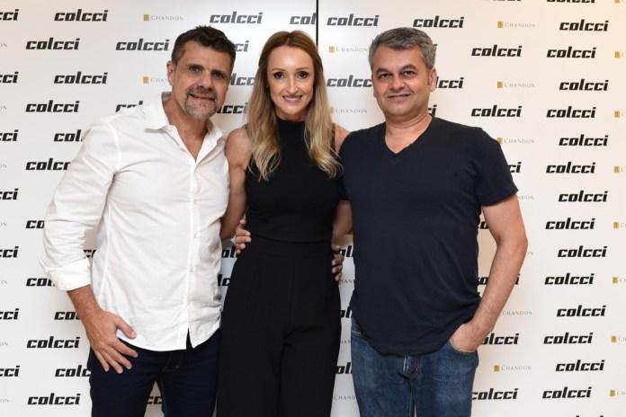 Arnando Sampaio, Adriana Zucco e Jeziel Moraes