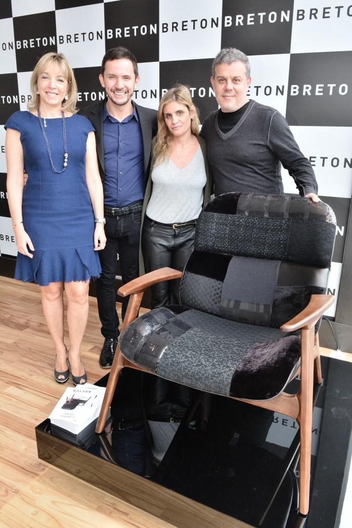 Anette Rivkind, Daniel Pegoraro, Carina Duek e Ronald Sasson (2) - ModaNews