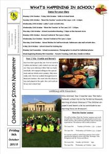Newsletter 09.10.15