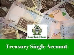 Treasury Single Account word art