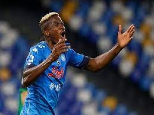 Napoli striker Victor Osimhen tests positive for COVID-19