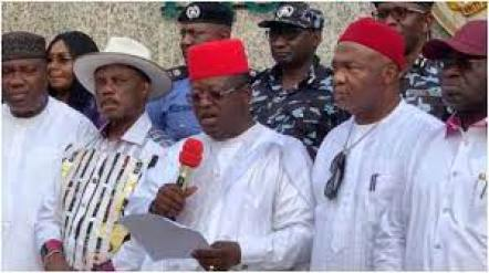 Mixed feelings trail launch of South-East Security outfit, Ebube Agu -  Daily Post Nigeria