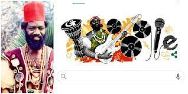Oliver De Coque: Google Celebrates Late Musician's Posthumous Birthday with  Doodle Designed by Nigerian Artist ▷ Nigeria news | Legit.ng