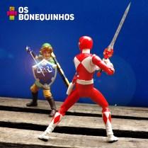 Link vs Ranger Vermelho