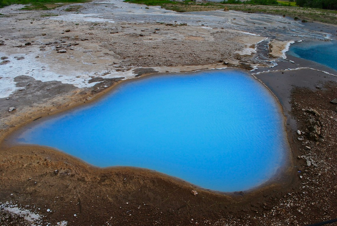 Another mineral pool...