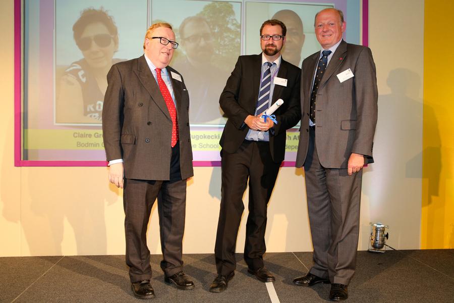 Most Inspirational Teacher Highly Commended Ben Dlugokecki Osborne School