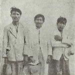Três sucurús, vendo-se ao centro o chefe