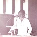 Samado dicursa na plenária da Assembleia_acervo CIMI. Sem data