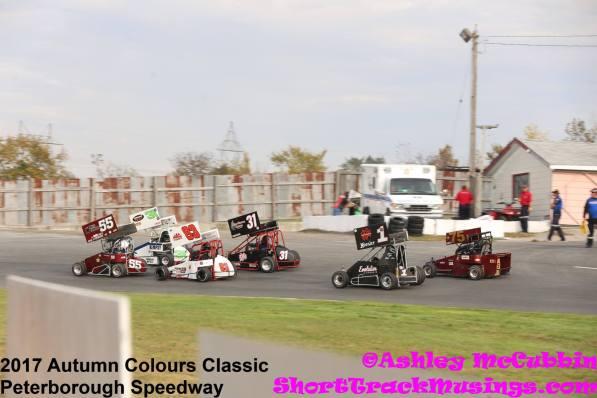OSCAAR Pro Sprints at Peterborough Speedway 2018