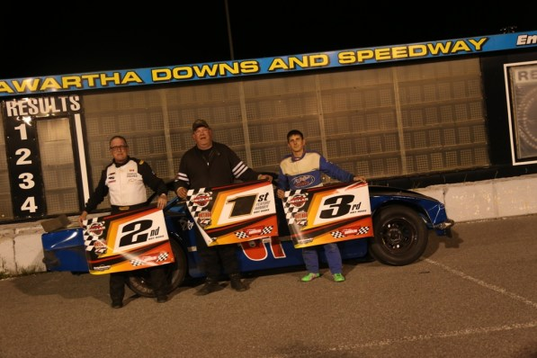 OSCAAR Hot Rod Series Top 3 Kawartha Speedway 2018