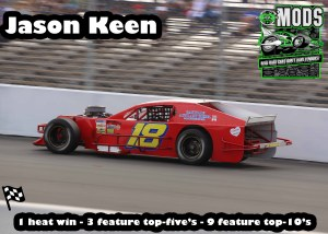 5th Modified Jason Keen