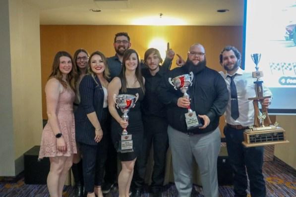 Hawn Motorsports at OSCAAR Banquet 2018