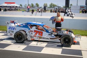 John Harper with Feature Win at Jukasa Motor Speedway
