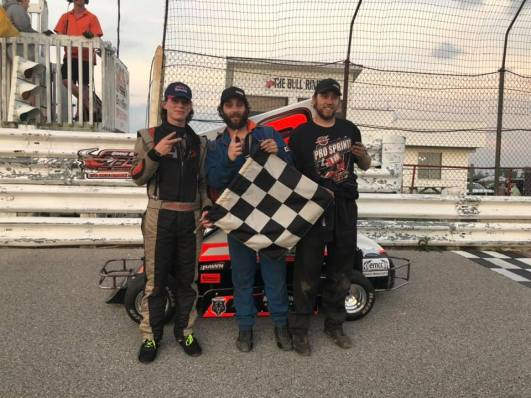 OSCAAR Pro Sprint Top Three Grand Bend