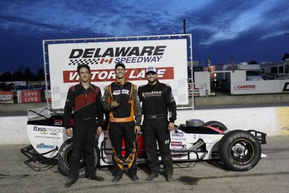 OSCAAR Modified Series Top 3 Delaware Speedway