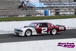 Tyler Hawn in his OSCAAR Series Hot Rod Series car.