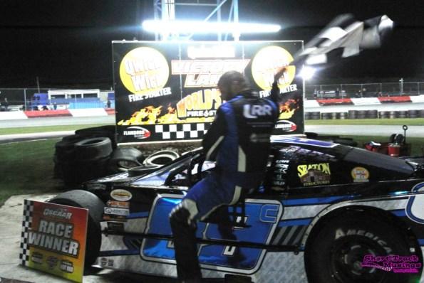 Andy Kamrath at Flamboro Speedway Octoberfest