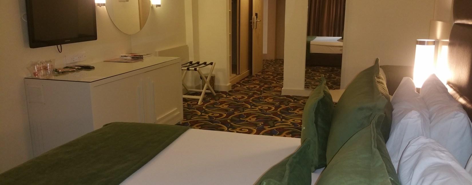 Hotel Zimmer mit Meerblick