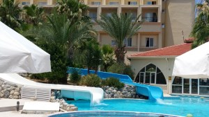 aqua park water slides & pool