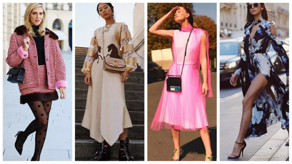 x looks das influencers na semana de moda de Paris