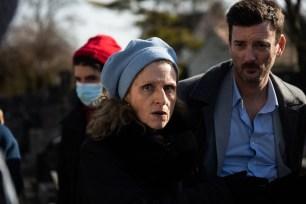 Sylvie Mandier & Bertrand Skol. Jeu & Caméra, directed by Lyèce Boukhitine, produced by Les Films du Faubourg, DOP Thierry Goron, Gaffer Christian Fleury.