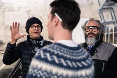 Lyèce Boukhitine, Thierry Goron & Raphaël Mars. Jeu & Caméra, directed by Lyèce Boukhitine, produced by Les Films du Faubourg, DOP Thierry Goron, Gaffer Christian Fleury.