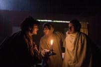 Les Bâtards Dorés - 100 millions qui tombent, filage au Théâtre de la Cité (TNT), Toulouse. Création lumière Lucien Valle. Manuel Severi, Jules Sagot & Ferdinand Niquet-Rioux.