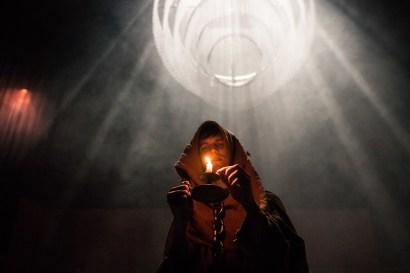 Les Bâtards Dorés - 100 millions qui tombent, filage au Théâtre de la Cité (TNT), Toulouse. Création lumière Lucien Valle. Manuel Severi.