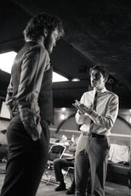 No Limit, répétitions au Cielito Lindo. Mise en scène Robin Goupil assisté par Arthur Cordier. Martin Karmann & Thomas Gendronneau.