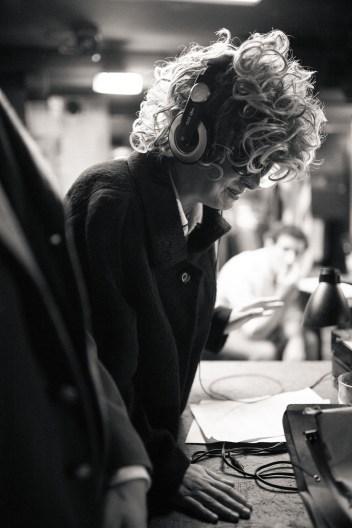 No Limit, répétitions au Cielito Lindo. Mise en scène Robin Goupil assisté par Arthur Cordier. Laurène Thomas.