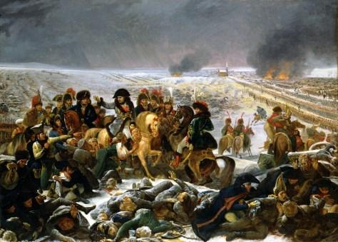 Napoleon en la Batalla de Eylau, (1808) Antoine-Jean Gros