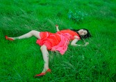 """Izima Kaoru. De la serie """"Landscape with a corpse"""""""