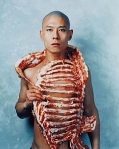 "Zhang Huan. ""1/2"" 1998 (Beijing, China)"