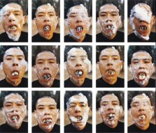 "Zhang Huan. ""Foam"" 1998 (Beijing, China)"
