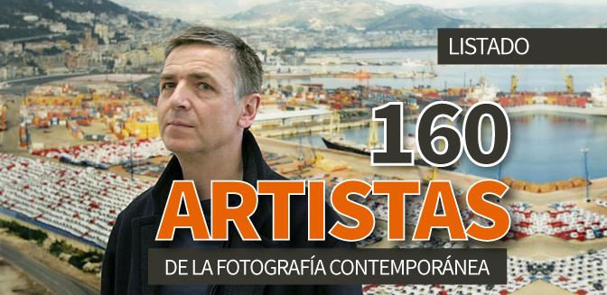 160 artistas de la fotografía contemporánea
