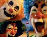 "Serie ""Clonwns"". Cindy Sherman"