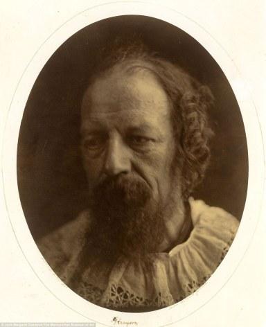 Julia Margaret Cameron. Lord Alfred Tennyson (Retrato, 1866)