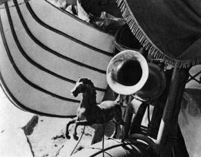 Caballito de carro de helados. 1927