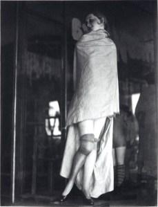 Maniquí tapado. 1930