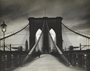 "Alexander Alland. ""Untitled"" (Brooklyn Bridge), c. 1938"