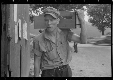 Carpenter, Westmoreland County, Pennsylvania Walker Evans