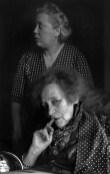 Colette with her companion Pauline, Paris 1952 Henri Cartier-Bresson